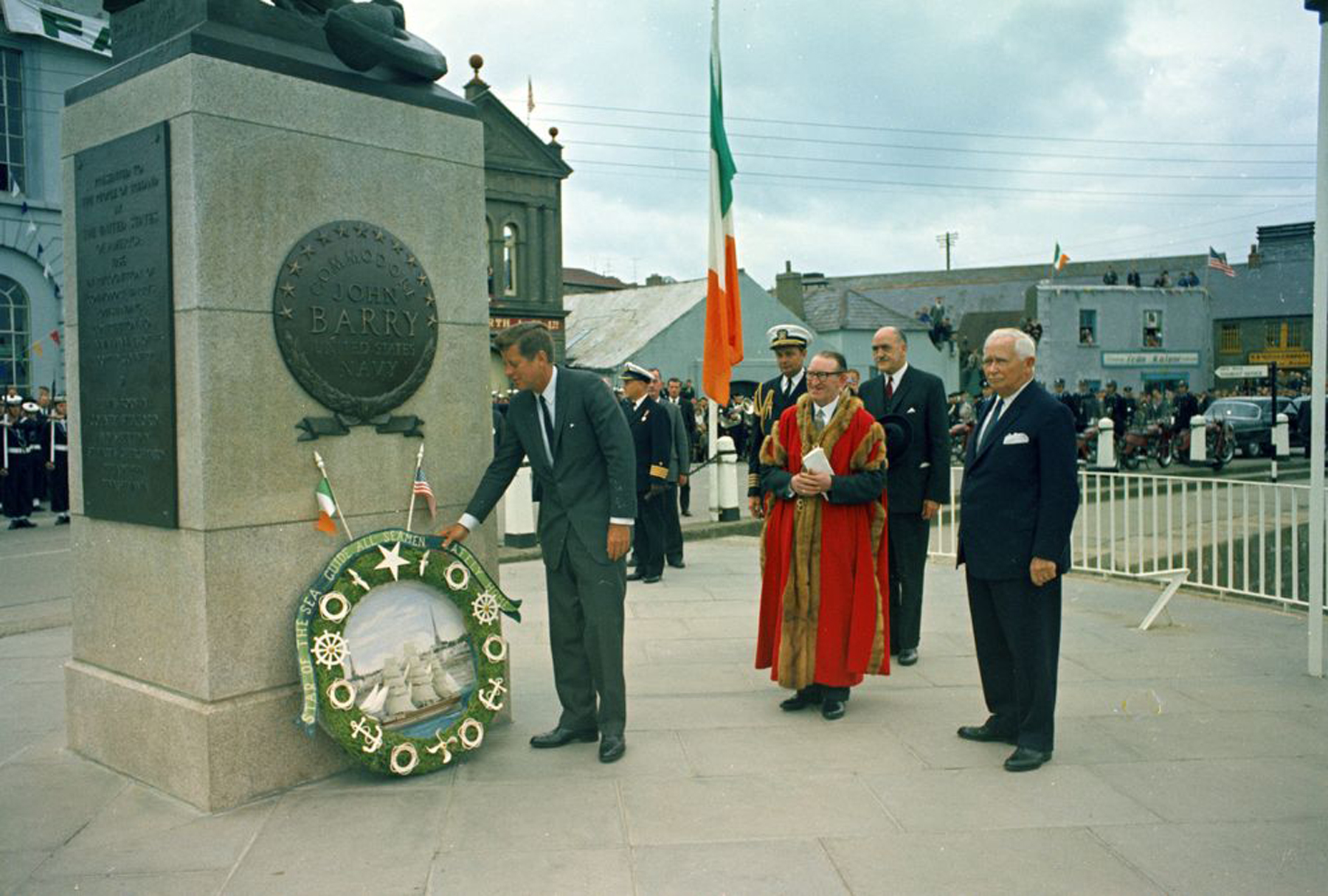 President Kennedy 1963 Wexford
